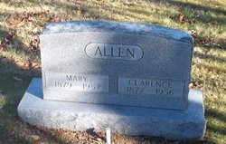 Mary Lucinda <I>Goldman</I> Allen
