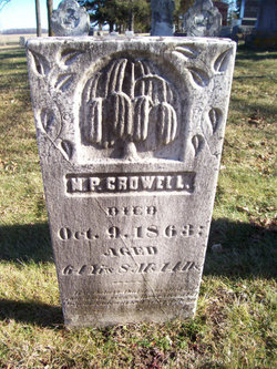 Moses P Crowell
