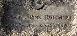 Sarah J <I>Pink</I> Bodenner