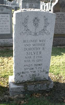 Dorothy B <I>Morrison</I> Silver