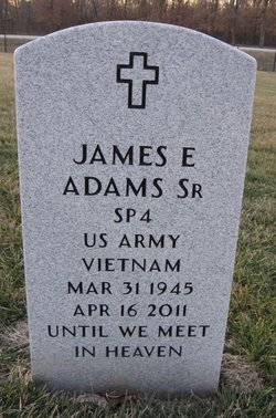 James E Adams, Sr