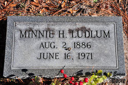 Minnie M <I>Hickman</I> Ludlum