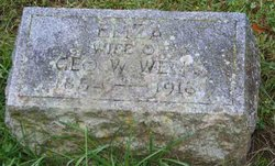 "Elizabeth ""Eliza"" <I>Measley</I> Wells"