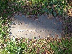 Mary Ann <I>Potts</I> Allan