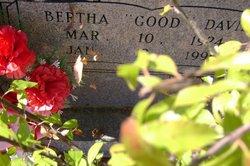 """Bertha Lee """"Good"""" <I>Davis</I> Braxton"""
