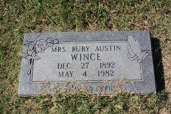 Ruby <I>Austin</I> Wince
