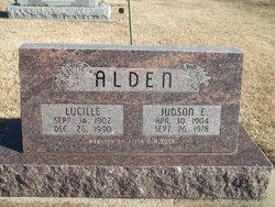 Lucille <I>McVicker</I> Alden