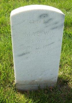 Mae W Aldridge