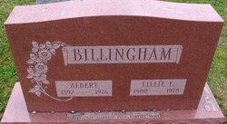 Lillian Elizabeth <I>Miller</I> Billingham