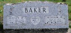 Bernice M Baker