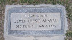 """Jewel Lessie """"Judy"""" <I>Cochran</I> Shaver"""