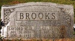 Mary Gladys <I>Cole</I> Brooks