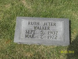 Ruth Louise <I>Jeter</I> Walker