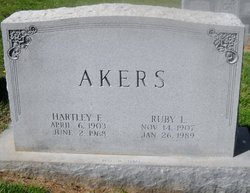HARTLEY F AKERS