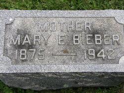 Mary Elizabeth <I>Leech</I> Bieber