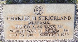 Charles H Strickland