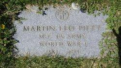 Sgt Martin Leo Piety