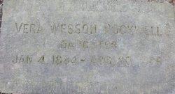 Vera <I>Wesson</I> Rockwell