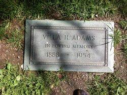 Villa H Adams