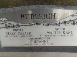 Mary <I>Carter</I> Burleigh