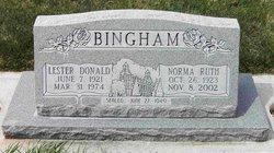 Lester Donald Bingham