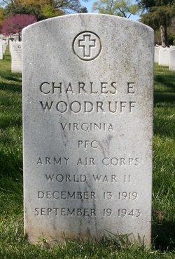 PFC Charles E. Woodruff