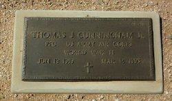 Thomas J Cunningham, Jr