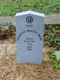 Capt Edmond Macon Ware