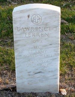 PFC Lawrence J Ferren