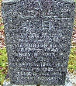 Effie Alice <I>Horton</I> Allen