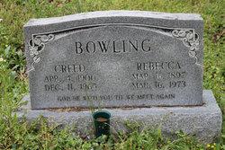 "Rebecca ""Becca"" <I>Campbell</I> Bowling"