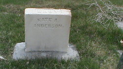 Kate A Anderson