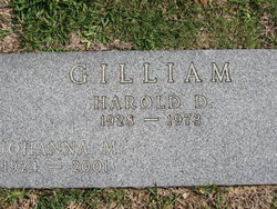 Harold D Gilliam