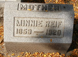 Minnie <I>Thielke</I> Reif