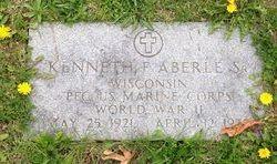 Kenneth F Aberle, Sr
