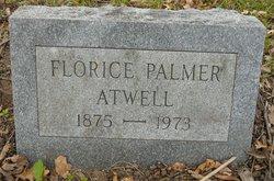 Florice <I>Palmer</I> Atwell