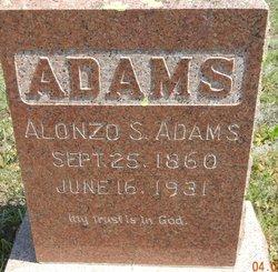 Alonzo S Adams