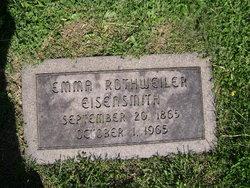 Emma Catherine <I>Rothweiler</I> Eisensmith