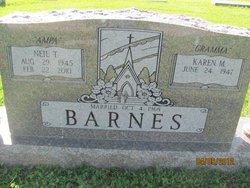 Karen <I>McAlister</I> Barnes