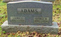 Laura Jane <I>Garrison</I> Adams