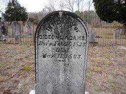 Pvt Gideon L. Adams