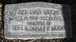 Mer Lynn Weight