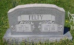 """Edward Clayton """"Edd"""" Felty"""