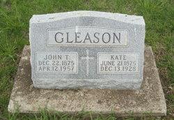 John T Gleason