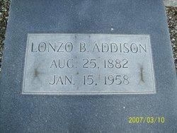 Lonzo B Addison