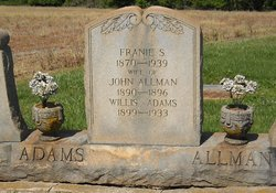 Franie S. <I>Evans</I> Allman