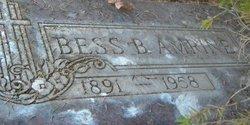 """Bessie B """"Bess"""" <I>Froman</I> Amrine"""