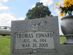 """Thomas Edward """"Ed"""" Wooden"""