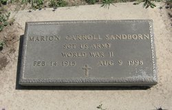 Marion Carroll Sandborn