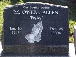 """Marion O'Neal """"Pegleg"""" Allen"""